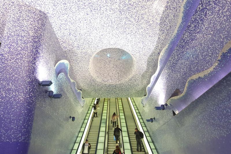 Metro Napoli - stazione Toledo